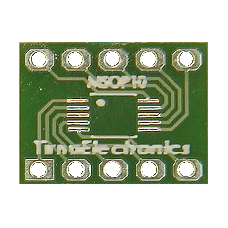 MSOP 10 PIN SMD DIL LEGACY ADAPTOR