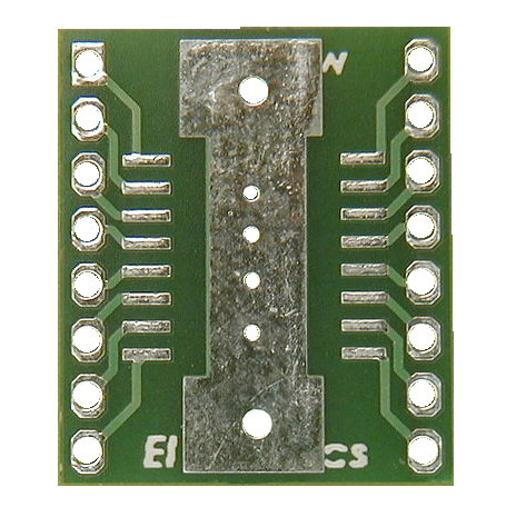 SOIC 16 WIDE ADAPTOR SOLDERING SERVICES QTY 5